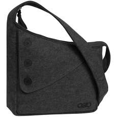 Ogio Brooklyn Womens Shoulder Bag - Dark Grey Felt