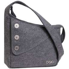 Ogio Brooklyn Womens Shoulder Bag - Light Grey Felt