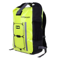 OverBoard Pro Vis Waterproof Backpack - 30 Ltr - Hi-Vis Yellow