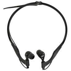 Auriculares Overboard Pro-Deportes Impermeables - Negro