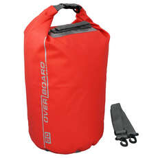 Overboard Sac Étanche Dry Tube - 30 Ltr - Rouge