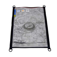 OverBoard Waterproof Large A3 Map/Document Pouch - Black