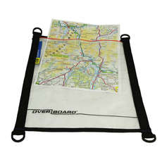 OverBoard Waterproof Medium A4 Map/Document Pouch - Black