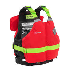 Palm Highside Rafter Youth PFD Buoyancy Aid  - Red