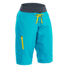 Palm Womens Horizon Shorts 2017 - Aqua