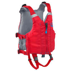 Palm Universal Kids PFD Zip-Up Buoyancy Aid  - Red