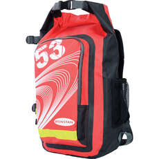 Ronstan Sailing Roll Top Dry Bag / Back Pack 26L - Rosso