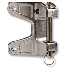 Selden Stainless Boom Bracket with Drop Nose Pin