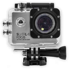 Silverlabel Focus Action Camera 1080p - Black/Silver