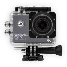 Silverlabel Focus Action Camera 4K - Noir / Argent