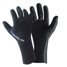 Guantes De Traje De Neopreno Con Costura Líquida Super Stretch De 3 Mm