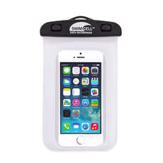 SwimCell 100% Waterproof Standard Phone Case - White