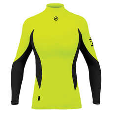 Zhik Womens Long Sleeve Spandex Top - Hi-Vis