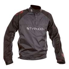 Typhoon Dart Junior Spray Top - Black/Grey