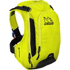 Uswe Airborne-15 Hydration Pack Mit Shape-Shift Blase - Gelb