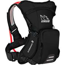 Uswe Airborne-3 Hydration Pack Mit Shape-Shift Blase - Schwarz