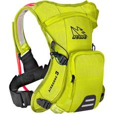Uswe Airborne-3 Hydration Pack Mit Shape-Shift Blase - Gelb