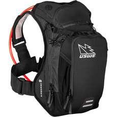 USWE Airborne-9 Hydration Pack with Elite Bladder - Black