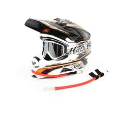 Uswe Helm Handsfree Kit (Für Full-Face Helme) - Rot