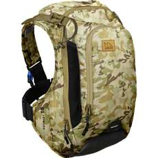 USWE Patriot 15 CB Pack + Back Protector - Camo