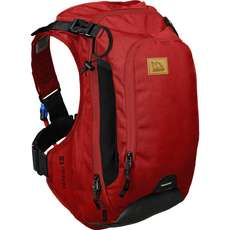 Uswe Patriot 15 Pack Cb + Protector Para La Espalda - Chilli Red