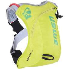 USWE Vertical 4 Run Pack with 2L Shape Shift Bladder - Crazy Yellow