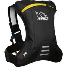 USWE XC Junior Hydration Pack with 1.5L Disposable Bladder - Black