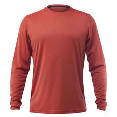 Zhik Long Sleeve Zhikdry Lt Tee 2019 - Ruggine