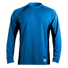 Zhik Mens Long Sleeve Zhikdry Vela Top - Blu