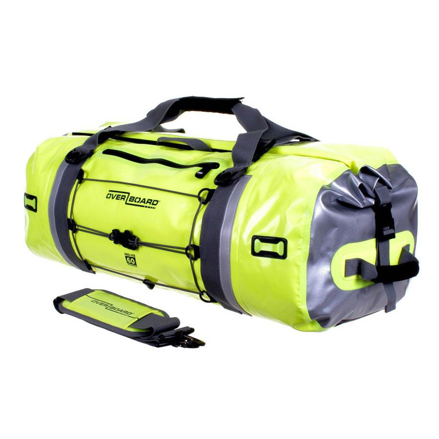 Overboard Pro Vis Waterproof Duffel Bag 60 Ltr Hi Vis