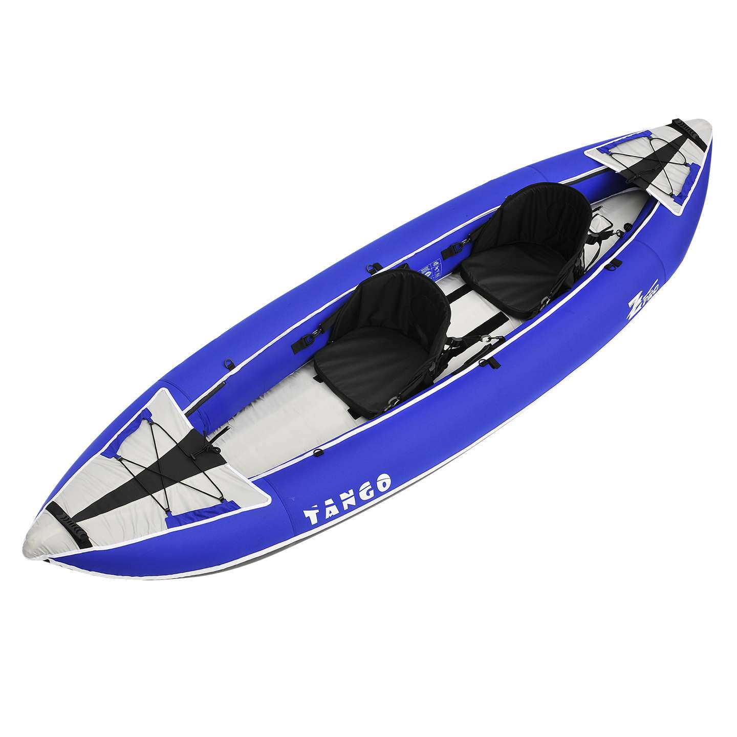 Details about Z-Pro Tango 2 Inflatable Kayak Blue - 1 or 2 Person Kayak